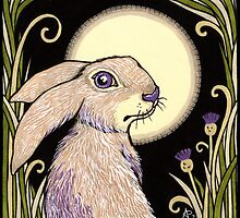 Moon Hare by Anita Inverarity