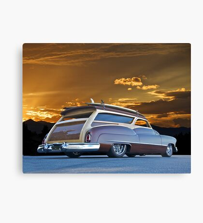 1950 Buick Woody Wagon VII Canvas Print