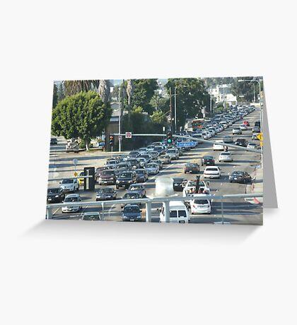 Heavy Traffic Greeting Card