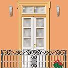 greek balcony by sarandis