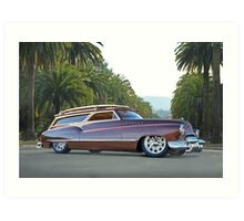 1950 Buick Woody Wagon VI Art Print
