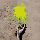 Apple Spray can Splash V3 by klaime