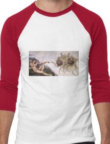 Flying Spaghetti Monster Men's Baseball ¾ T-Shirt