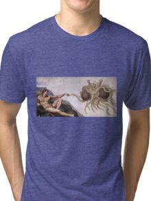 Flying Spaghetti Monster Tri-blend T-Shirt