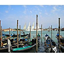Summer In Venice Photographic Print