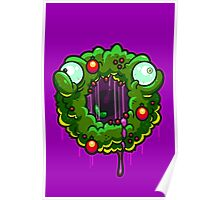 Zombie Wreath Poster