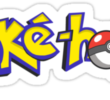 Poke-holic - Pokemon Shirt Sticker