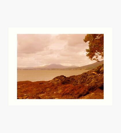 Fading Light On An Irish Island Art Print