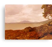 Fading Light On An Irish Island Metal Print