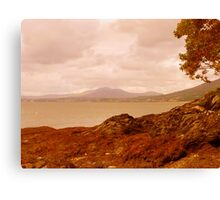 Fading Light On An Irish Island Canvas Print