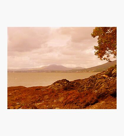 Fading Light On An Irish Island Photographic Print