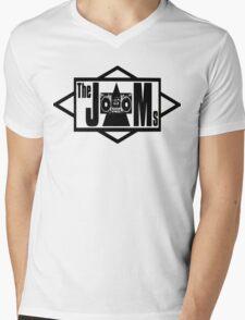 The JAMS Logo (KLF) (Black) Mens V-Neck T-Shirt