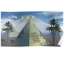 Pyramids at Appolonias Sile Plains Poster