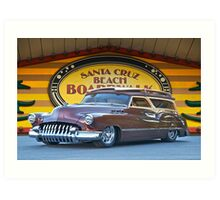 1950 Buick Woody Wagon I Art Print