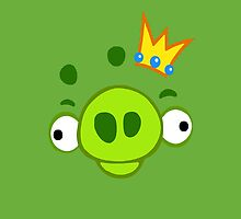 Angry Birds - Green by Stephen Diego