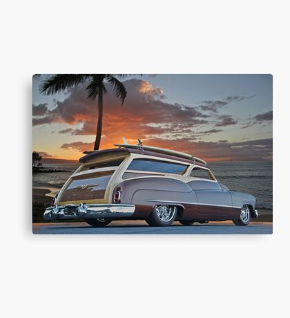 1950 Buick Woody Wagon XII Canvas Print
