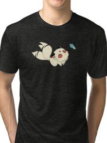 InuYasha kirara Tri-blend T-Shirt