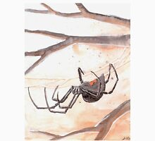 Black Widow Spider Watercolor Classic T-Shirt