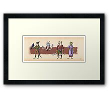 The Races of Cleadonia 2 Framed Print