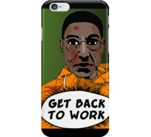 GET BACK TO WORK (Comic version) iPhone Case/Skin
