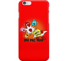 One Pac-Man  iPhone Case/Skin