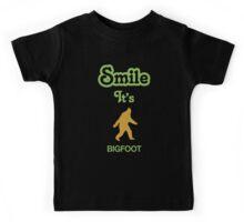 Smile it's BIGFOOT Children's Clothing Kids Tee