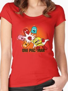 One Pac-Man  Women's Fitted Scoop T-Shirt