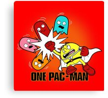One Pac-Man  Canvas Print