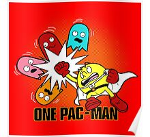 One Pac-Man  Poster