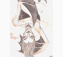 Batty Vampire Watercolor Painting Classic T-Shirt