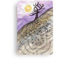 A Remote Mountain Canvas Print