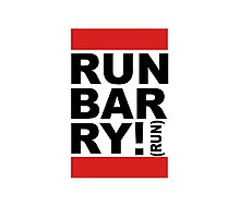 Run Barry, Run!  Photographic Print