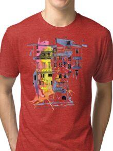 Maisons Suspendu, Pont-en-Royans, France Tri-blend T-Shirt