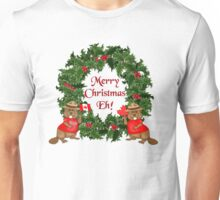 Canadian Mountie Beaver Christmas Eh! Unisex T-Shirt