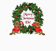 Canadian Mountie Beaver Christmas Eh! Unisex T-Shirt