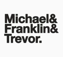 Michael & Franklin & Trevor by MichaelDeSanta