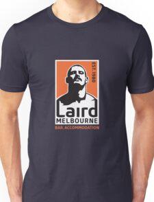 Laird Logo 'Stache' by Chris Lopez Unisex T-Shirt