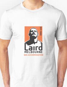 Laird Logo 'Stache' by Chris Lopez T-Shirt