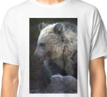 Grizzly Bear Cub-Signed-#3632 Classic T-Shirt