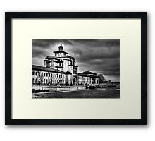 Into the Past.... Framed Print