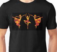 Flamboyant Trio Dance Unisex T-Shirt