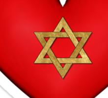 iHeart Hanukkah Sticker