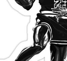 Liquid Michael Jordan Sticker