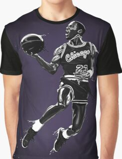 Liquid Michael Jordan Graphic T-Shirt