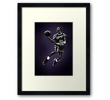 Liquid Michael Jordan Framed Print
