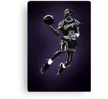 Liquid Michael Jordan Canvas Print