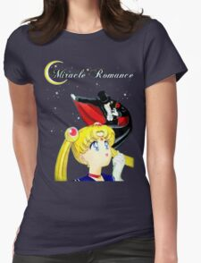 Sailor Moon-Miracle Romance Womens Fitted T-Shirt