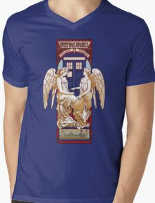 Angel Nouveau Mens V-Neck T-Shirt