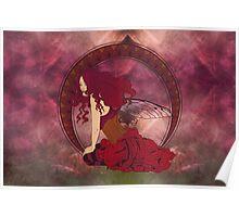 Fairy Nouveau Poster
