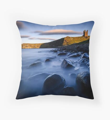Dunstanburgh Castle, Northumberland Throw Pillow